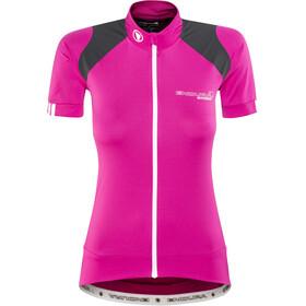 Endura Hyperon Naiset Pyöräilypaita lyhythihainen , vaaleanpunainen/musta